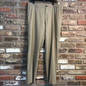 ADIDAS CLIMALITE Khaki Pants 36X32